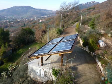 n.02 Impianti fotovoltaici da 2,9 kW cad. Alatri