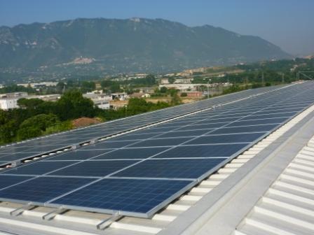Impianto fotovoltaico da 81 kW -Ferentino