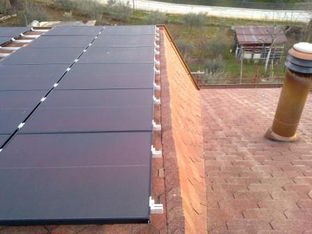 Impianto fotovoltaico in amorfo 5,28 kW - Veroli